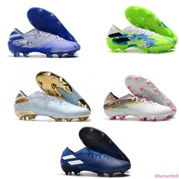 gold messi boots Canada - Mens Soccer Cleats Fast delivery Messi 19.1 FG 302 Redirect Copa Football Boots messi football boots Chaussures chuteiras de futebl