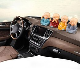 Kung fu doll online shopping - Car Jewelry Decoration Cartoon Doll Decoration Cute Expression Car Interior Decoration Kung Fu Kid Small Shami Supplies Gifts