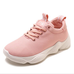 Discount Knit Fabric Australia - Wholesale Discount Cheap Prime knit Women's Shoes new Fashion Sneakers hot sell with good quality women casual shoes for lady ,Free Shipping