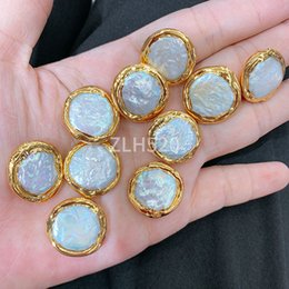$enCountryForm.capitalKeyWord Australia - Handmade vintage delicate simple girl fashion accessories 24k gold pearls