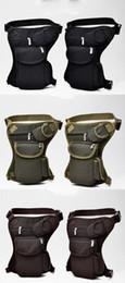 $enCountryForm.capitalKeyWord Australia - Cycling Canvas Waist Bag Outdoor Tactical Multi-function designer fannypack Leg Bag Leisure Sports Fishing Gear Bag