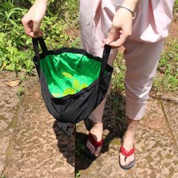 $enCountryForm.capitalKeyWord Australia - Water Bags Outdoor Camping Collapsible Wash Face Bag Travel Hiking Picnic Washbasin Bucket Bowl Washing Practical Waterproof