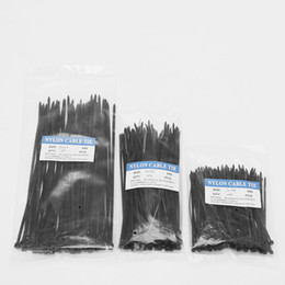 plastic cable ties Canada - 250 Pcs Nylon Cable Self-locking Plastic Wire Zip Ties Set 3*100 3*150 4*200 MRO & Industrial Supply Fasteners & Hardware Cable