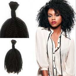 $enCountryForm.capitalKeyWord NZ - Afro Kinky Curly Bulk Human Hair for Braiding Peruvian Afro Kinky Curly Bulk Hair Extensions No Attachment FDSHINE