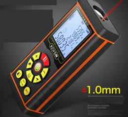Laser Entfernungsmesser 40 Mt 60 Mt 80 Mt 100 Mt 120 Mt Entfernungsmesser Laser Band Entfernungsmesser Engineering Gebäude Misuratore Messen Gerät Test Werkzeug im Angebot