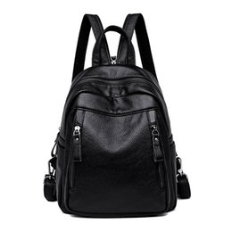 $enCountryForm.capitalKeyWord Australia - High-end brand hot shoulder backpack women's new Korean version backpack fashion 100-pack student bag simple large-capacity travel
