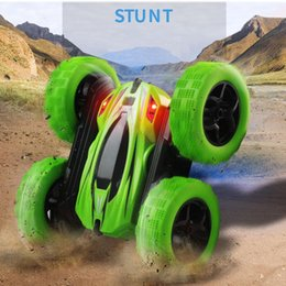 RC Car 2.4G 4CH Stunt Drift Deformation By Car Rock Crawler Roll Car 360 Degree Flip Kids Robot RC Cars Toys for Gifts on Sale