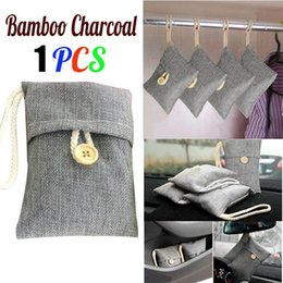 charcoal packages 2019 - 1pcs Bag Car Bamboo Charcoal Activated Carbon Air Freshener Odor Deodorant New charcoal package Interior Accessories #71
