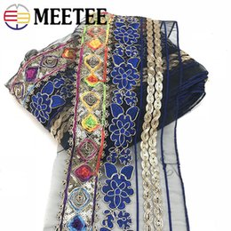 $enCountryForm.capitalKeyWord Australia - Meetee 2Meters 17cm Gold Thread Embroidered Lace Trims Fabric Shoes Dress Decorative Webbing Ribbons For Stage Clothing DIY Accessories