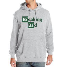 Broken Bad UK - Breaking Bad Print 2019 New Winter Spring Fashion Mens Hoodies Sweatshirts With Hat Warm Fleece Sportsman Wear Hip Hop Crossfit