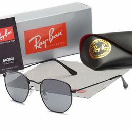 $enCountryForm.capitalKeyWord Australia - Brand designer Geometry Sunglasses Women men uv400 Lens Sun Glasses Mens Alloys Frame Eyeglasses Oculos De Sol with brown cases and box168