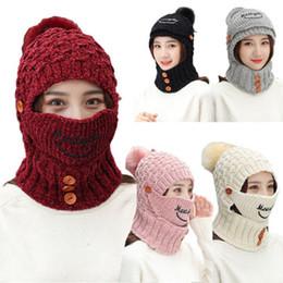Discount snow wool beanies - 2018 Brand New Style Winter Unisex Women Warm Ski Solid Beanie Cap Wool Knit Snow Hat Skull Casual Fashion Beanies
