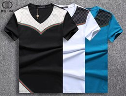 European Clothing Australia - summer 19ss European American style tag snake print clothing men fabric letter polo g t-shirt collar casual women tshirt tee shirt tops 168