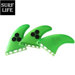 Good Performance New Fiberglass Future Template Keels Rudder G5 Tri Fin Per Set Surfing Fins For All Age on Sale