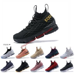 cac0f7c6da3 2019 High Quality Newest Ashes Ghost Lebron 15 Basketball Shoes Arrival  Sneakers 15s Mens Casual 15 King James sports shoes LBJ EUR 40-46