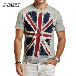 swag clothes wholesale 2020 - E-BAIHUI Brand summer style Cotton men's Clothing Male t shirt Man T-shirts Casual T-Shirts Skateboard Swag tops te