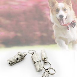 $enCountryForm.capitalKeyWord Australia - More size anti-lost dog tags pet cat ID card with necklace pendant tag hanging on the collar metal pet supplies