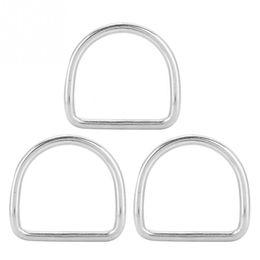 Discount stainless steel belt clips - KEEP DIVING 3PCS Stainless Steel Swimming Diving D Ring Weight Belt Keeper Clip Slider Stopper Holder Retainer Equipment