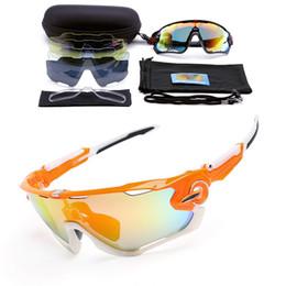 0c444a2c5b Polarized 5 Lens Cycling Eyewear MTB Bicycle Sun Glasses Cycling Sunglasses  Mountain Bike Goggles Gafas de Ciclismo Myopia frame
