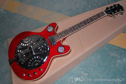 $enCountryForm.capitalKeyWord Australia - new High Quality maestro brand custom Dobro Resonator burlywood Electric Guitar