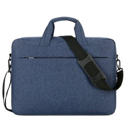 briefcase for ipad UK - 14 15 inch Briefcase Handbag Computer Laptop Bags for Huawei Dell Acer Macbook xiaomi Office Portable Bag fashion