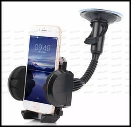 smart phone car holder 2019 - Car Phone Holder adsorption vehicle glass, Flexible 360 Degree Adjustable Mount Smart Phone Holder For all Kinds of 3.5-