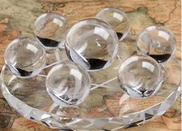 $enCountryForm.capitalKeyWord Australia - Seven array of natural crystal ball ornaments Lucky Feng Shui transport 40--50mm