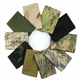Hiking bike online shopping - camouflage Tactical scarf summer breathable mesh scarves outdoor hiking camping neck scarf bike cycling sport scarves LJJZ476