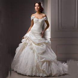 $enCountryForm.capitalKeyWord Australia - Custom Made bridal gown Sweetheart robe de mariee Sleeveless vestidos de novia 2018 Elegant Cheap mother of the bride