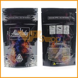 Pack Lab Australia - Newest Alien Labs Bags Resealable Zipper Seal Bag for Freshness Childproof Flowers Packing Cookies Connected Stoney Patch
