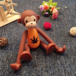 Wholesale Cell phone stand monkey cute cartoon creative monkey cell phone stand flat stand desktop gift