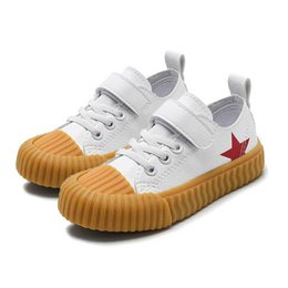94ffd2cdf 8 Fotos Compra On-line Bebê crianças sapato casual-Crianças Clássico PU  Skate Sapatos Para Menina