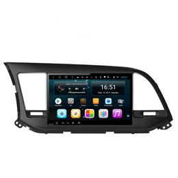 $enCountryForm.capitalKeyWord Australia - Android 9inch 8-core for hyundai elantra 2016-2019 Car Multimedia Player Radio WIFI Bluetooth GPS Navigation Wifi Head Unit