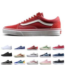 529fd16bb1 Wholesale Vans old skool sk8 fear of god hi men women canvas sneakers black  white YACHT CLUB MARSHMALLOW fashion skate shoes