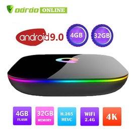 $enCountryForm.capitalKeyWord Australia - 1 PCS Allwinner H6 Android 9.0 TV Box 6K HD Streaming Media Player 4G 32G Quad Core Smart Mini PC 2.4G Wifi Q Plus IPTV Set Top Box USB 3.0