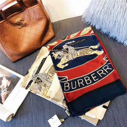 $enCountryForm.capitalKeyWord Australia - The classic feminine silk soft comfortable brand scarf shawl fashion succinct design style does not lose feminine grace