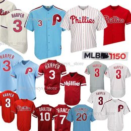 China Philadelphia 3 Bryce Harper jersey 7 Maikel Franco Phillies 4 Lenny 10 Darren Daulton 99 Mitch Williams Jerseys 2019 Best selling Jersey supplier jersey sell suppliers