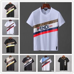 $enCountryForm.capitalKeyWord Australia - HOT Mens Designer Shirt Summer Tops Casual T Shirts for Men Women Short Sleeve Shirt Brand Clothing Letter Pattern Printed Tees Crew Neck
