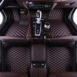 mercedes floor mats NZ - For Mercedes-Ben GLK 2008-2014 Waterproof Non-slip Carpets floor mat Non toxic and inodorous