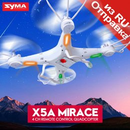 Battery syma rc online shopping - Original Syma X5A Drone G CH RC Helicopter Quadcopter with No Camera Aircraft Dron for Novice Ship batteries