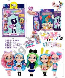 Random long online shopping - Random Models Doll Long Hair Doll Simple Ball Demolition Egg Toy Dress Up Doll Space Capsule Toy