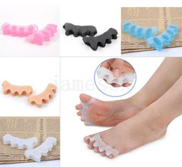 $enCountryForm.capitalKeyWord Australia - Silicone toe aligner toe separator straightener silicone foot care protector foot care tool professional massager dc783