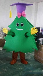 Cartoons full movies online shopping - 2019 High quality Doctor tree mascot costume Christmas tree mascotter cartoon fancy dress costume Halloween Fancy Dress Christmas Party