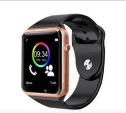 Bluetooth Smart Watch Sim Australia - Hot A1 Smart watch Bluetooth Smartwatch SIM card heart rate for IOS iPhone Samsung Android Phone Intelligent Clock Sports Watches
