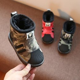 boots shoes for kids Canada - Winter Children Boots Boys Snow Boots Girls Sport Children Shoes For Kids Sneakers Fashion Leather Child Shoes Kids