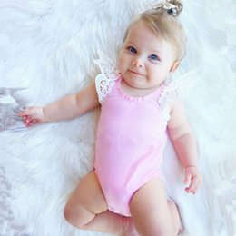 jumpsuit babies Australia - 2018 Fashion Baby Rompers O-Neck Lace Infantil Kids Clothes Summer Newborn Jumpsuit Children Clothing Layette Cute Girl Romper