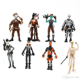 $enCountryForm.capitalKeyWord Australia - 8 Style Fort nite Plastic Doll toys New kids 10cm Cartoon game llama skeleton role Action Figures Kids Toys