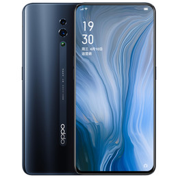 """Wholesale Original OPPO Reno 4G LTE Cell Phone 6GB RAM 128GB 256GB ROM Snapdragon 710 Octa Core Android 6.4"""" Full Screen 48.0MP Face ID Mobile Phone"""