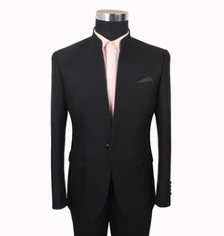 $enCountryForm.capitalKeyWord UK - Black Wedding Tuxedos Slim Fit Suits For Men Groomsmen Suit Two Pieces Cheap Prom Formal Suits (Jacket+Pants+Tie) 061