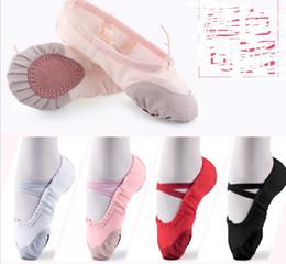 $enCountryForm.capitalKeyWord Australia - Ballet Dance Dancing Shoes Pointe For Children Kids Girls Women Soft Flats Shoes Comfortable Fitness Breathable Slippers